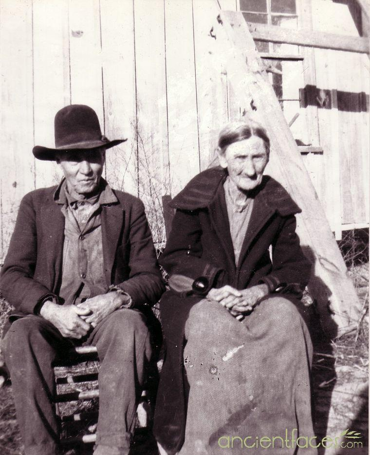 Marion Francis Gann and Sarah Jane Bailey